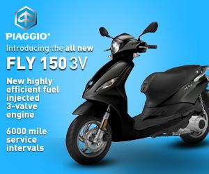 New 3V Piaggio Fly 150