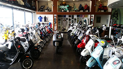 Vespa Scooter Sales