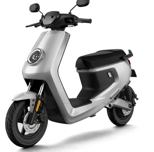 niu-m-electric-scooter-silver-front
